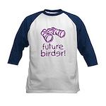 Future Birder Kids Baseball Jersey