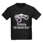 Future Birdwatcher Kids Dark T-Shirt
