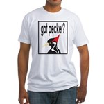 Ivory-billed: Got Pecker? Fitted T-Shirt