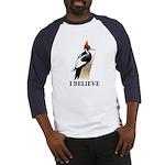 Ivory-billed: I Believe Baseball Jersey