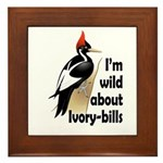 I'm Wild About IBWOs Framed Tile
