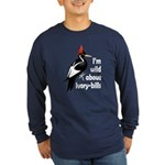 I'm Wild About IBWOs Long Sleeve Dark T-Shirt