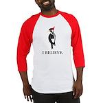 Simple Ivory-billed: I Believe Baseball Jersey