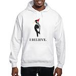 Simple IBWO: I Believe Hooded Sweatshirt