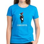 Simple IBWO: I Believe Women's Dark T-Shirt