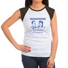 Procrastinators: Leaders of T Womens Cap Sleeve T