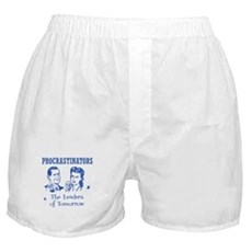 Procrastinators: Leaders of T Boxer Shorts