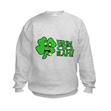 Erin Go Blah! Kids Sweatshirt
