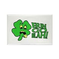 Erin Go Blah! Rectangle Magnet