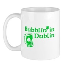 Bubblin' in Dublin Mug