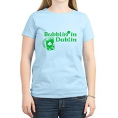 Bubblin' in Dublin Womens Light T-Shirt