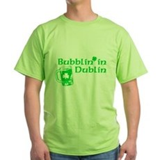 Bubblin' in Dublin Green T-Shirt