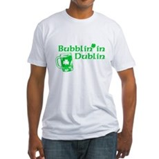 Bubblin' in Dublin Fitted T-Shirt