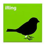 iRing (green) Tile Coaster