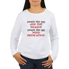 People Like You.. Medication Womens Long Sleeve T
