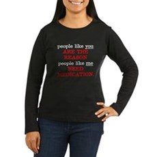 People Like You.. Medication Womens Long Sleeve D