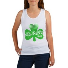 Retro St. Pat's Womens Tank Top