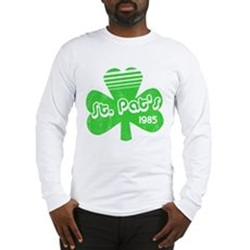 Retro St. Pat's Long Sleeve T-Shirt