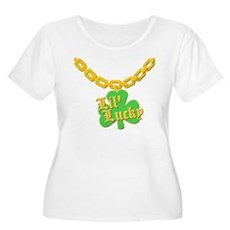 Lil' Lucky Plus Size Scoop Neck Shirt