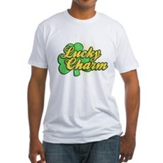 Vintage Lucky Charm Fitted T-Shirt