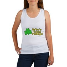 Who's Your Paddy? Womens Tank Top
