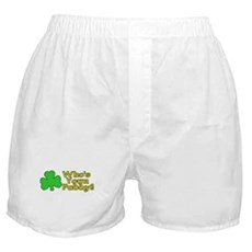 Who's Your Paddy? Boxer Shorts