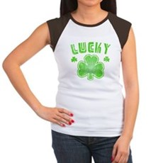 Lucky Womens Cap Sleeve T-Shirt