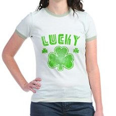 Lucky Jr Ringer T-Shirt
