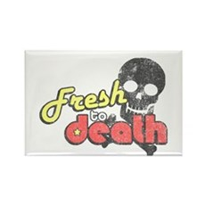 Fresh to Death Rectangle Magnet