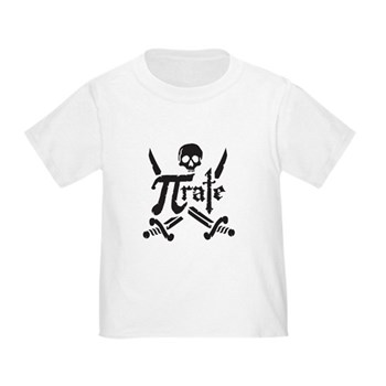 PI rate Toddler T-Shirt | Gifts For A Geek | Geek T-Shirts