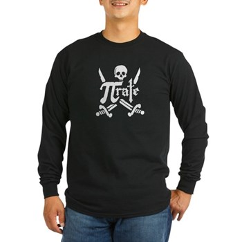 PI rate Long Sleeve Dark T-Shirt | Gifts For A Geek | Geek T-Shirts