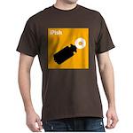 iPish (orange) Dark T-Shirt