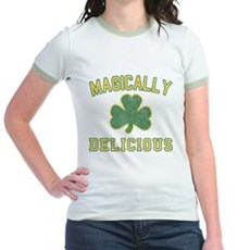 Magically Delicious Jr Ringer T-Shirt