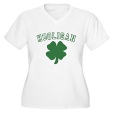 Irish Hooligan Plus Size V-Neck Shirt
