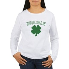 Irish Hooligan Womens Long Sleeve T-Shirt