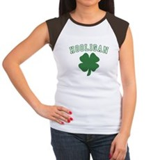 Irish Hooligan Womens Cap Sleeve T-Shirt