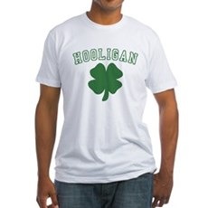 Irish Hooligan Fitted T-Shirt