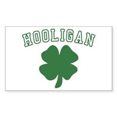 Irish Hooligan Rectangle Sticker