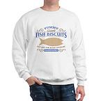 Yummy Fish Biscuits Sweatshirt
