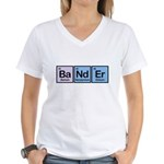 Elements of Banding Women's V-Neck T-Shirt
