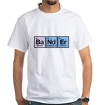 Elements of Banding White T-Shirt