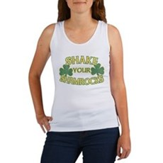 Shake Your Shamrocks Womens Tank Top