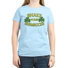 Shake Your Shamrocks Womens Light T-Shirt