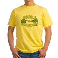 Shake Your Shamrocks Yellow T-Shirt