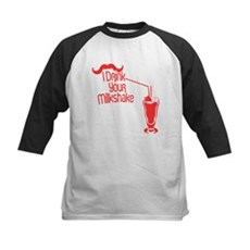 I Drink Your Milkshake Kids Baseball Jersey