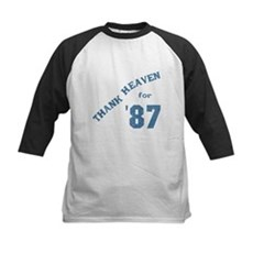 Thank Heaven for '87 Kids Baseball Jersey