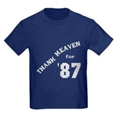Thank Heaven for '87 Kids T-Shirt
