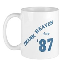 Thank Heaven for '87 Mug