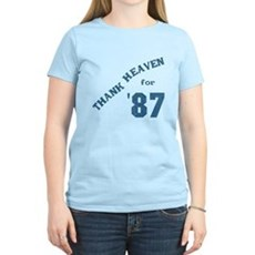 Thank Heaven for '87 Womens Light T-Shirt