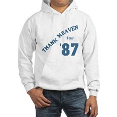 Thank Heaven for '87 Hooded Sweatshirt